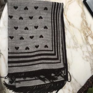 Accessories - Reversible Heart Scarf